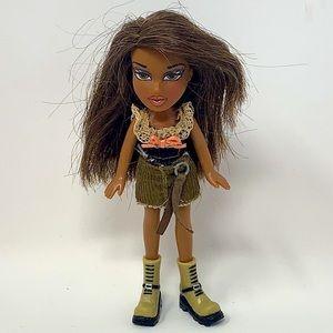 2002 Lil Bratz Doll Black African American used